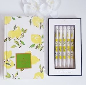 Kate spade New York  Journal and Pencil Set